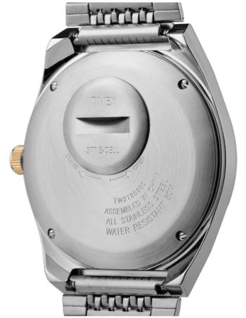 Timex Q Falcon Eye caseback