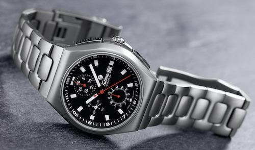 Tutima at rest but still new watch alert