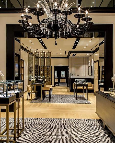 Vacheron boutique New York selling luxury watches