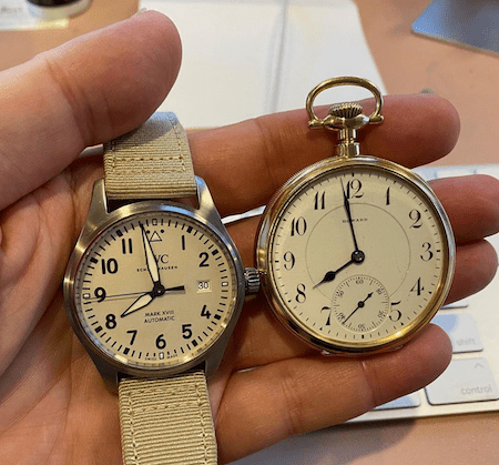 Watch comparison
