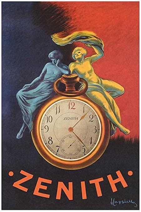 Zenith watch ad