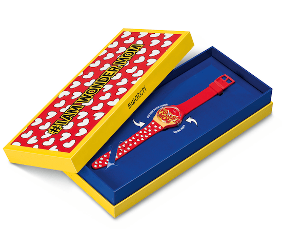 New watch alert - SWATCH #IAMWONDERMOM presentation box