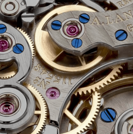 A. Lange & Sohne expensive watch movement