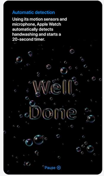 Apple watchOS 7 congrats