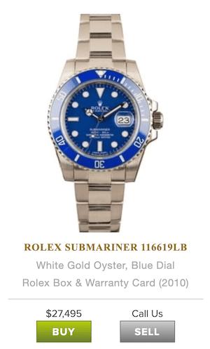Bob's Watches Rolex Submariner
