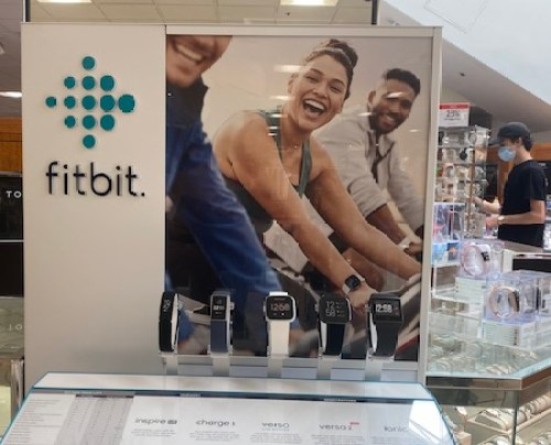 Fitbit display