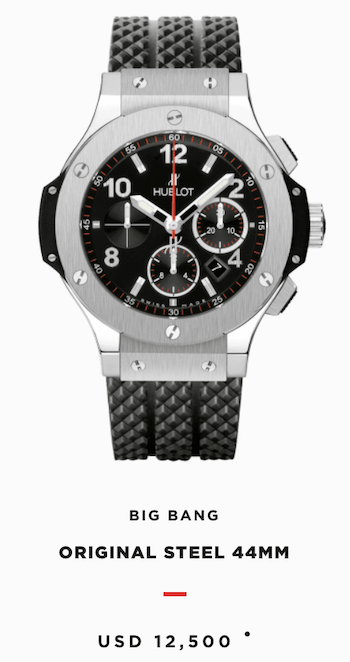 Hublot original Big Bang
