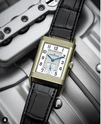 Jaeger-leCoultre Reverso steel something