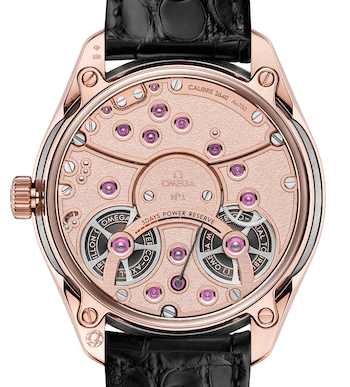 New watch alert - Omega De Ville Tourbillon Co-Axial Master Chronometer caseback