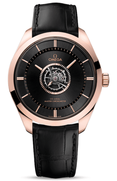 OMEGA's De Ville Tourbillon Master Chronometer - new watch alert!