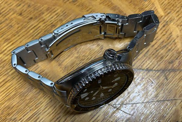 Seiko Turtle bracelet