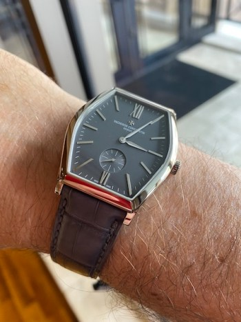 Vacheron Constantin Malte on wrist