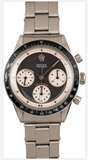 Watch news! Paul Newman Rolex Daytona fetches $191k
