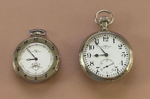 Ball Secometer vs. Ball railroad watch