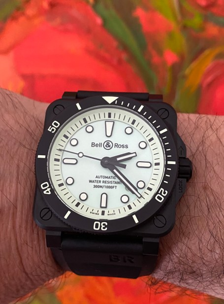 Bell & Ross glow-in-the-day watch