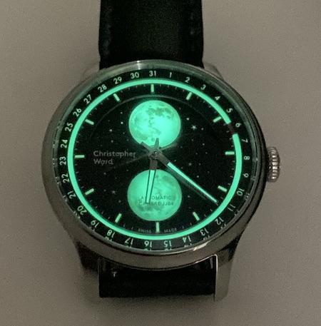 Ward watch low light
