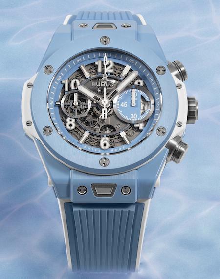 Hublot Big Bang Unico Sky Blue - new watch alert
