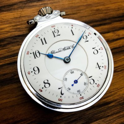 Illinois Bunn Special pocket watch front