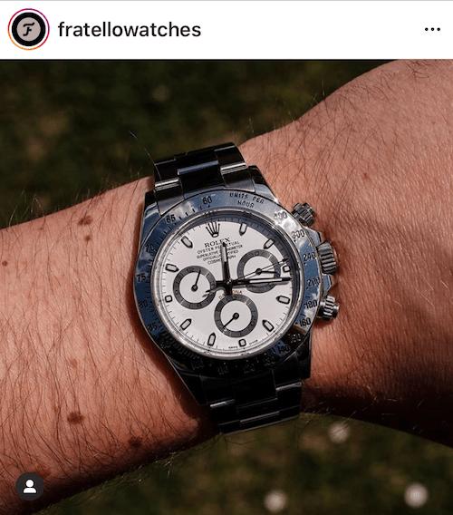 Lousy watch websites - Fratello Instagram