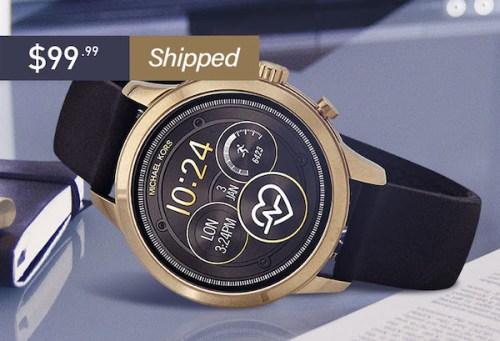 MK designer watch