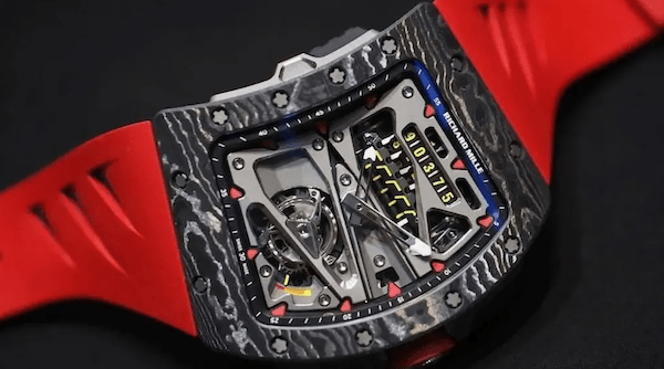 Really expensive watches can be ugly like the Richard Mille RM70-01