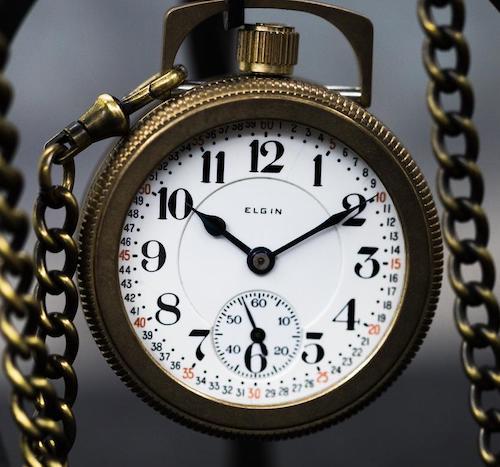 Vortic Chicago Railroad watch