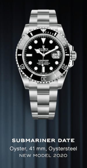 Black Dial Submariner Date with Black Cerachrom Bezel on Oystersteel