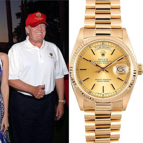 Donald Trump Rolex Day-Date