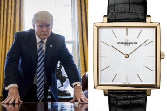 Donald Trump Vacheron Constantin