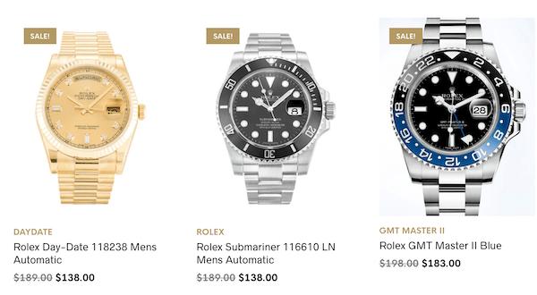 Fake watches - Rolex