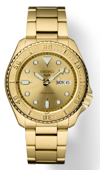 Gold Seiko 5