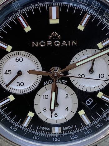 Norqain closeup