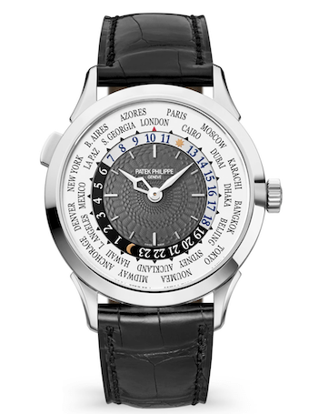 Patek Philippe rules - World Time