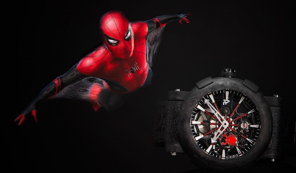 RJ Watches spiderman black