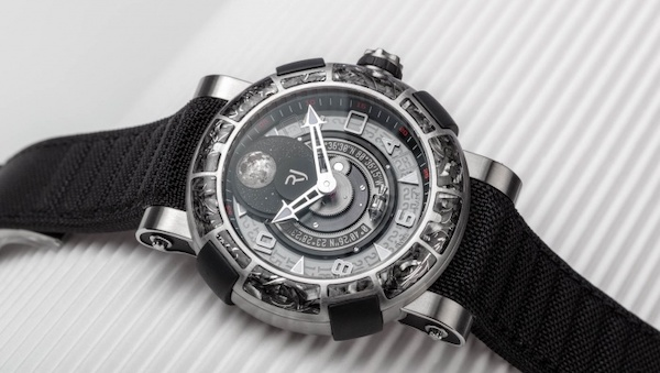 RJ watches with moonphase
