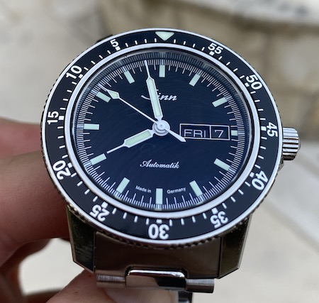 Sinn 104 money shot