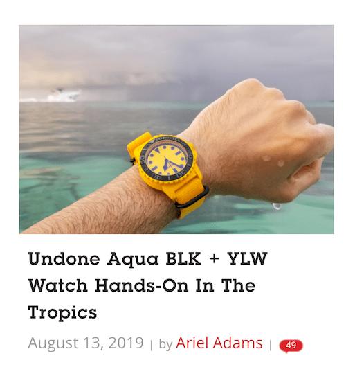 UNDONE sponsored post watch