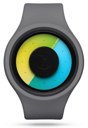 Ziiiro Aurora Grey - strange watch