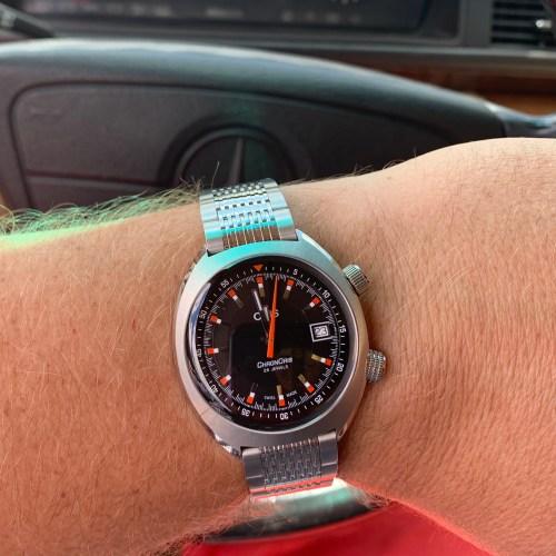 Oris ChronOris in Mercedes