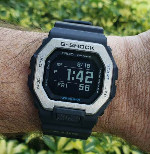 G-SHOCK GBX-100 in the shade