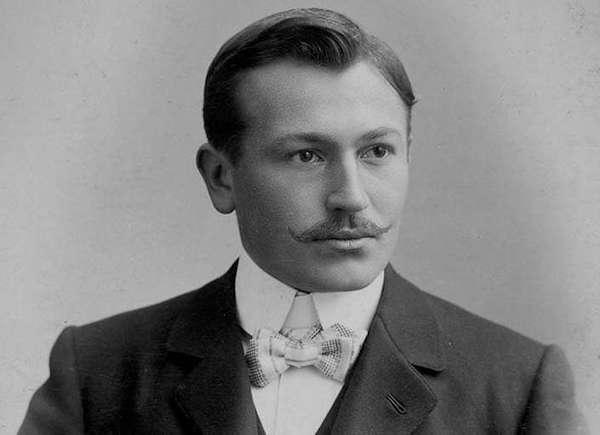 Architect of Rolex's success Hans Wilsdorf