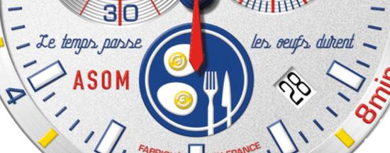 MAT Watches Egg Master Watch dial detail - new watch alert