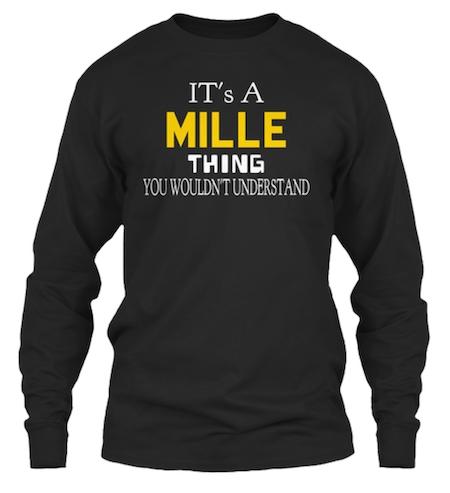 Mille sweatshirt