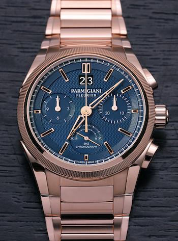 Parmigiani Tondagraph GT Rose Gold Blue
