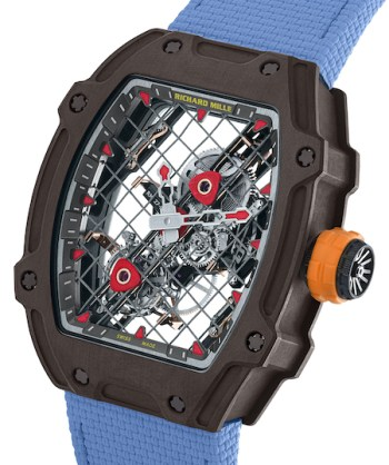 Richard Mille RM-27-04 Tourbillon watch face