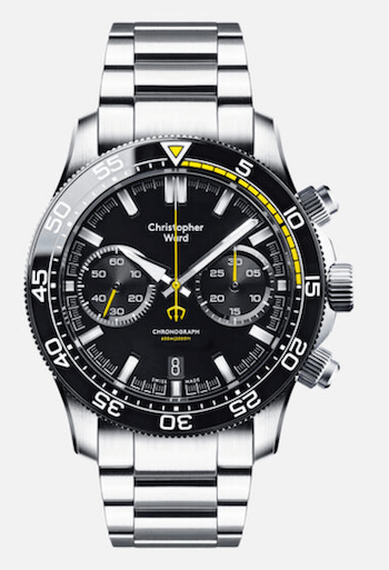 Christopher Ward C60 Chronograph - new watch alert
