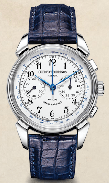 watch beauty - Cuervo y Sobrinos Historiador Landeron