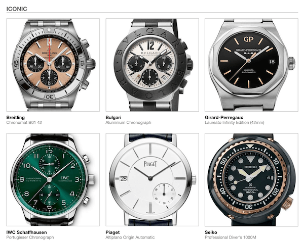 Iconic watches?