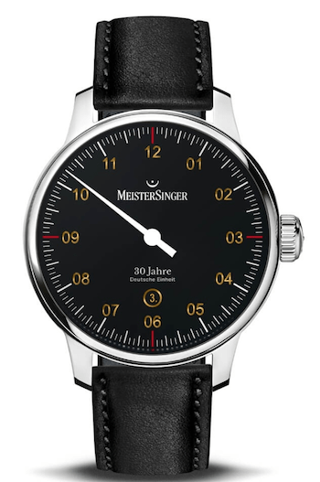 """MeisterSinger N°03 """"30 Jahre Deutsche Einheit"""" LE steel"""
