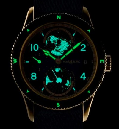 Montblanc 1858 Geosphere Messner Limited Edition lume